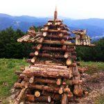 Sewen, Vosges, Alsace : Bûcher de la Saint-Jean_04